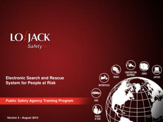 Electronic Search and Rescue System for People at Risk