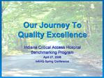 Our Journey To Quality Excellence