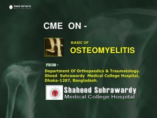 OSTEOMYELITIS-At-Shaheed-Suhrawardy-Medical-College-Hospital