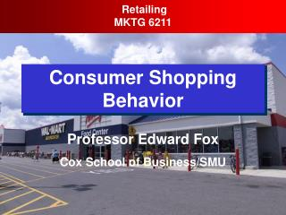 Consumer Shopping Behavior