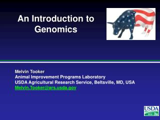 An Introduction to Genomics