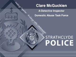 Clare McGuckien A/Detective Inspector Domestic Abuse Task Force