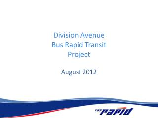 Division Avenue  Bus Rapid Transit  Project