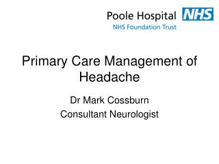 Primary Care Management of Headache