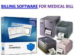 Billing software-Softgen Infotech