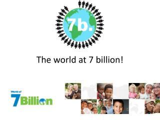 The world at 7 billion!