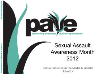 Sexual Assault Awareness Month 2012
