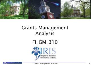 Grants Management Analysis FI\_GM\_310