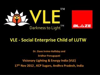 BLAZE Automation and VLE KCP Sugars presentation 17 nov 2012