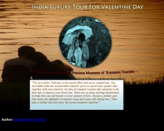Valentine Day - India Luxury Tour Package