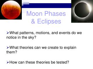 Moon Phases & Eclipses