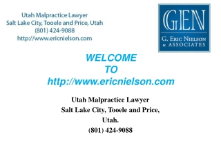Utah birth injury attorneys lawyer