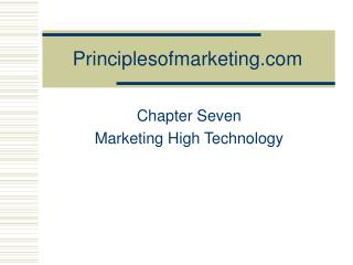 Principlesofmarketing.com