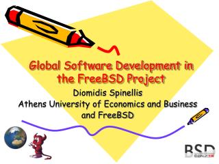 Global Software Development in the FreeBSD Project