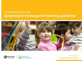 An introduction to the Queensland kindergarten learning guideline