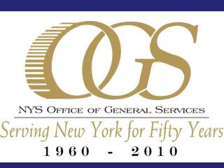 Lisa K. Fox Associate Attorney Office of General Services Lisa.Fox@ogs.state.ny (518) 474-0571 OGS Website ogs.state.ny