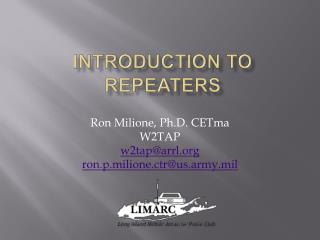 Introduction to Repeaters
