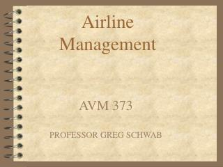 Airline Management