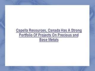 Capella Resources