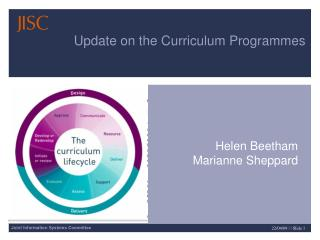 Update on the Curriculum Programmes