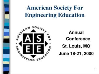 American Society For Engineering Education
