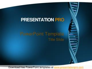 PresentationPro Sample Presentation