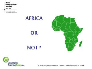 AFRICA OR NOT ?