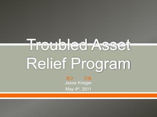 Troubled Asset Relief Program