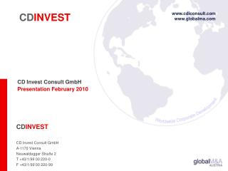 CD Invest Consult GmbH Presentation February 2010