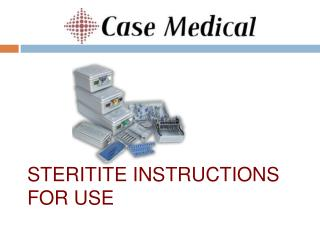 SteriTite Instructions for use