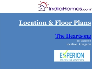 Properties in Gurgaon - The Heartsong by Experion