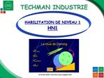 TECHMAN INDUSTRIE