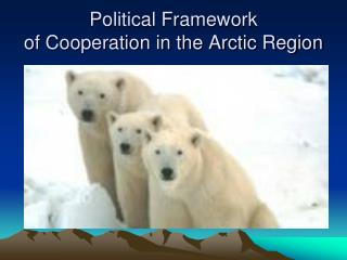 Political Framework                                of Cooperation in the Arctic Region
