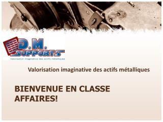 Bienvenue en Classe Affaires!