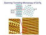 Scanning Tunneling Microscopy of CeTe3