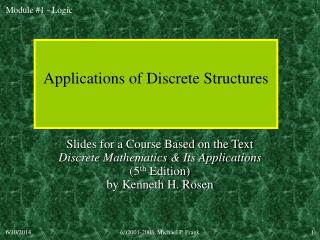Applications of Discrete Structures