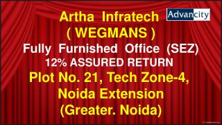 ARTHA INFRATECH FURNISHED OFFICE DETAILS @ 9654953105