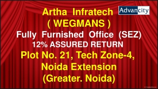 ADVAN CITY BY ARTHA INFRATECH DETAILS @ 9654953105