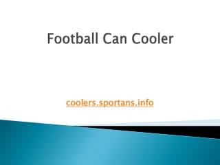 Football Can Cooler
