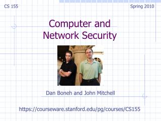 Computer and  Network Security