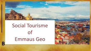Social Tourisme of Emmaus Geo