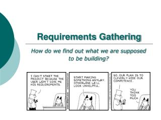 Requirements Gathering