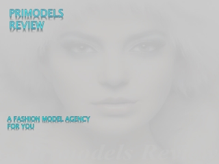 A Fashion Model Agency for You