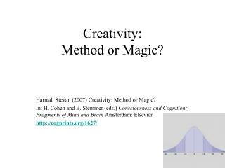 Creativity: Method or Magic?