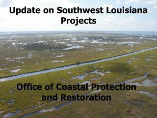 Update on Southwest Louisiana Projects