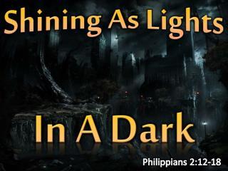 In A Dark World