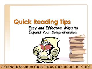 Quick Reading Tips