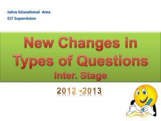 Jahra Educational  Area ELT Supervision