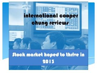 International Cooper Chung Reviews