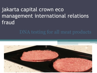 jakarta capital crown eco management international relations